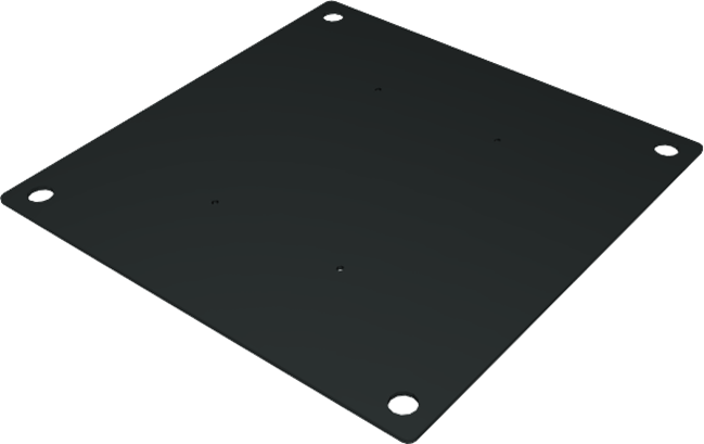 Base Plate - 600mm Square - 300mm Box Truss Peg base only
