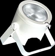 LED ShowPro 60w w/ 25 deg lens White Case