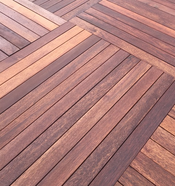Decking - Merbau Deck (structural deck including sub-frame)