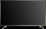 """55"""" (1138cm) 4K Black LED Television including Wallmount bracket"""