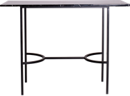 Black Arc Bar Table - Rectangle