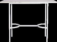 White Arc Bar Table - Rectangle