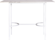 White Arc Bar Table - Rectangle