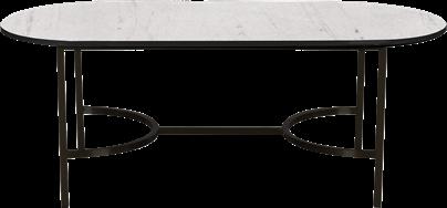 Black Arc Coffee Table