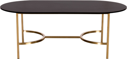 Gold Arc Coffee Table