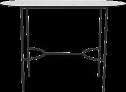 Black Arc Bar Table - Oblong