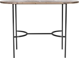 Black Arc Bar Table - Oblong