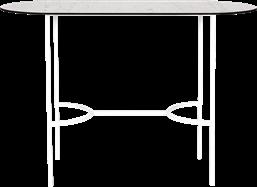 White Arc Bar Table - Oblong