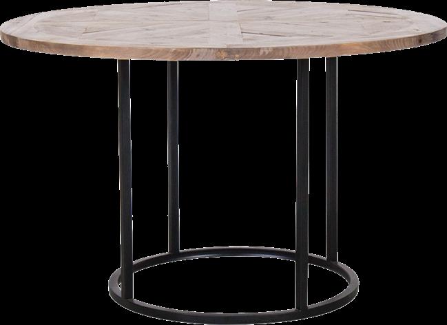 Black Arc Dining Table