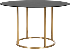 Gold Arc Dining Table