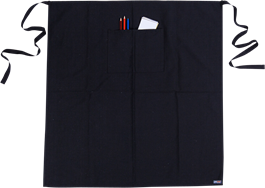 Apron - Black - Long