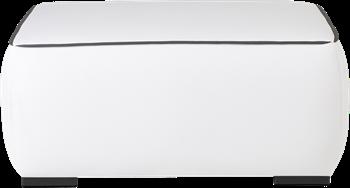 Aspen Ottoman - White