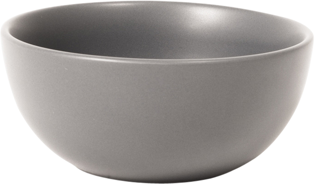 Aura Rice Bowl - Grey - 11 x 6cm