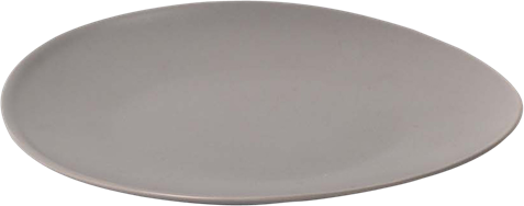 Aura Side Plate - Grey - 19cm