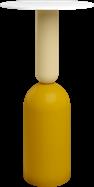 Mustard Ava Bar Table
