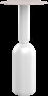 White Ava Bar Table