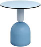 Powder Blue Ava Cafe Table