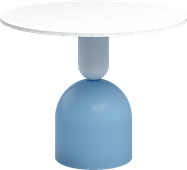 Powder Blue Ava Side Table