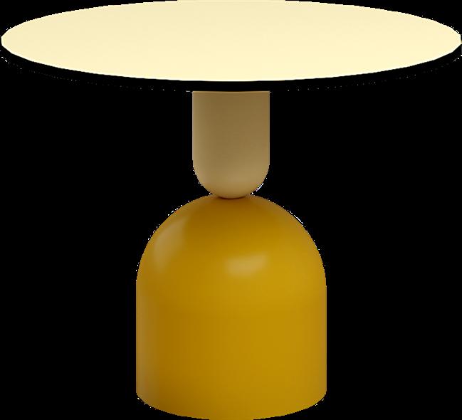 Mustard Ava Side Table
