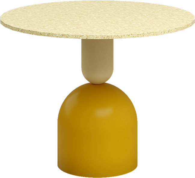 Mustard Ava Side Table