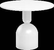 White Ava Side Table