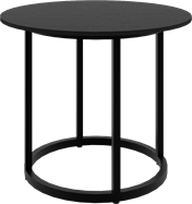 Black Arc Side Table