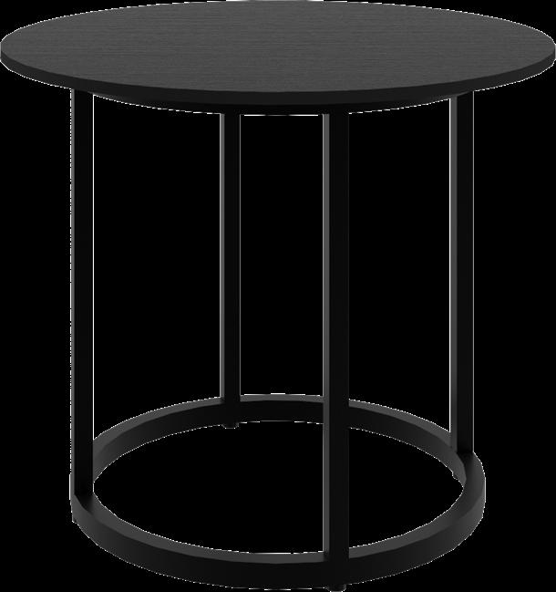 Black Arc Side Table