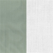 Natural Napkin - Two Tone - Sage/White