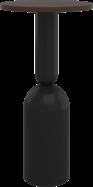 Black Ava Bar Table