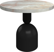 Black Ava Side Table