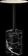 Black Marble Bar Table