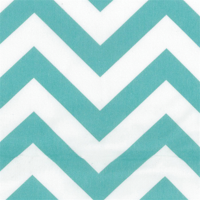 Chevron Table Cloth - Blue - 2.1 x 2.1m