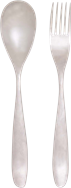 Bodhi Serving Spoon & Fork