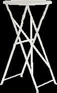 Botanical Folding Bar Table