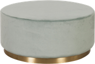 Celine 90cm Round Ottoman