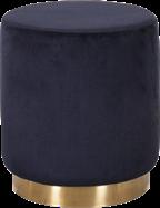 Celine 40cm Round Ottoman