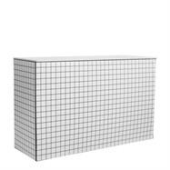 Chameleon High Bar - Black & White Grid