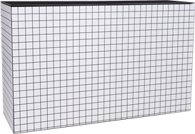 Chameleon Service Bar - Black & White Grid