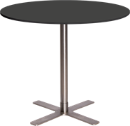 Large Round Cafe Table