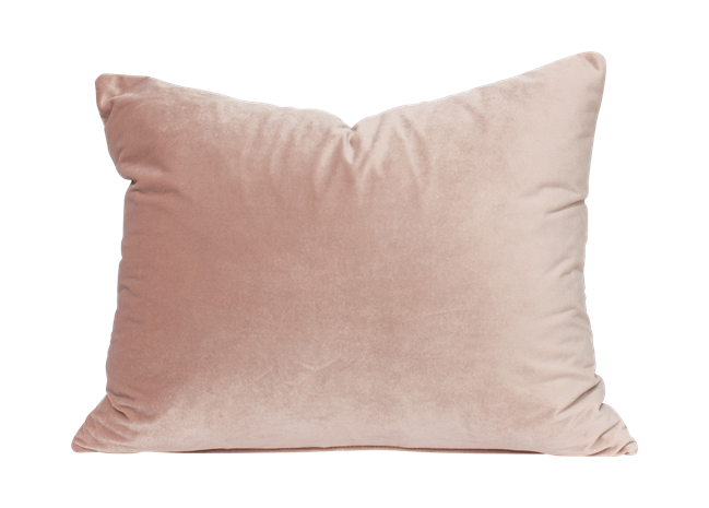 Velvet Cushion - Rose - 30 x 40cm