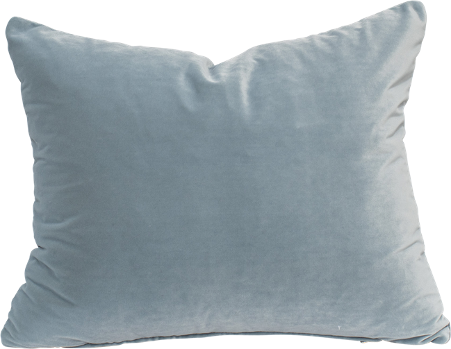 Velvet Cushion - Powder Blue - 40 x 50cm
