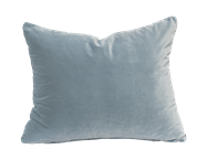 Velvet Cushion - Powder Blue - 30 x 40cm