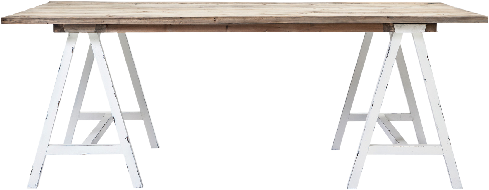 Driftwood Dining Table - 200 x 110cm Rect