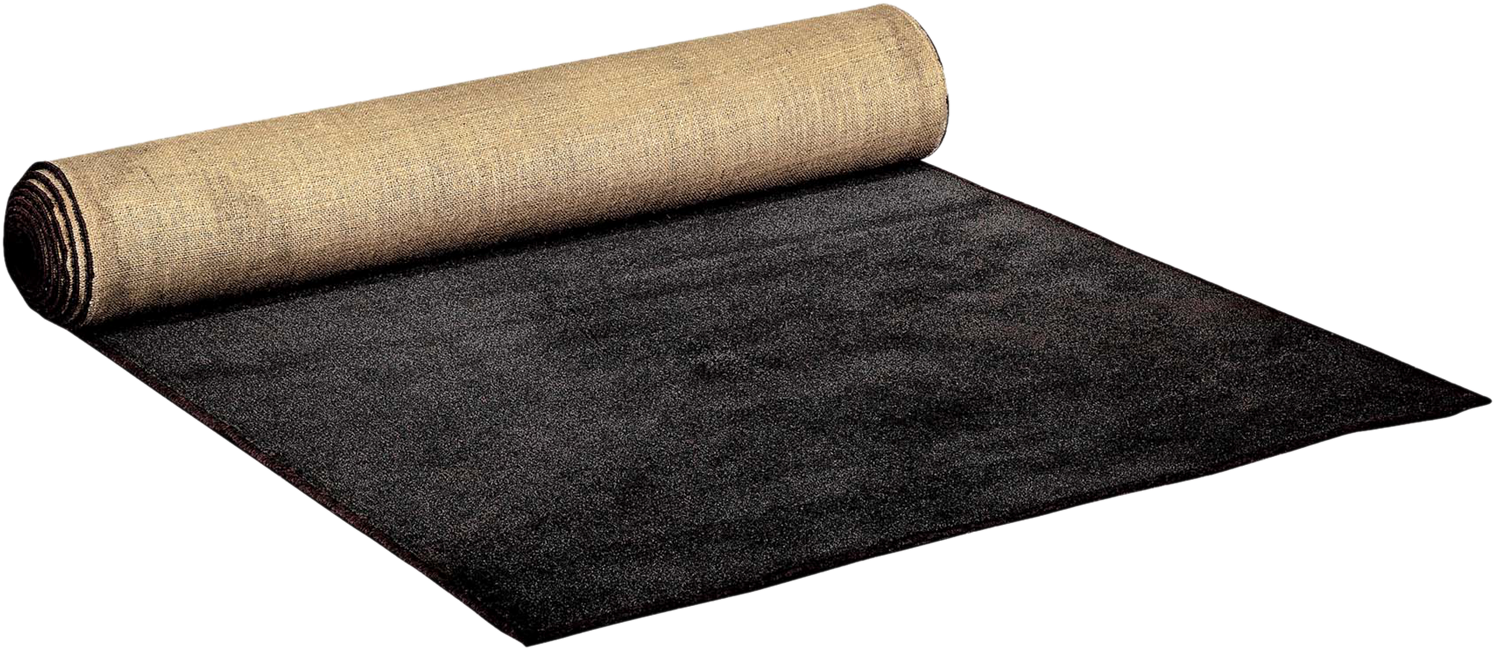 Carpet Runner - Black - 5m x 1.2m (Bound)