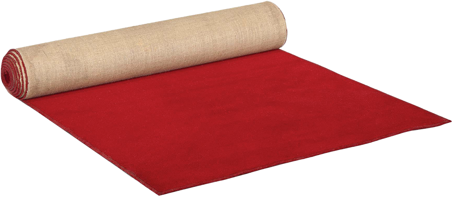 Carpet Runner - Red - 5m x 1.2m (Bound)