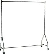Clothes Rack Chrome 1.5m W