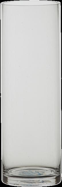 Vase - Glass Medium Cylinder - 10cm x 30cm H