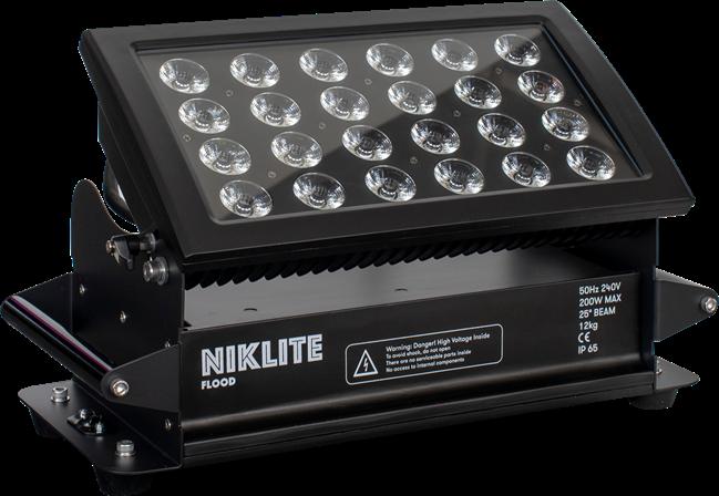 NIKLITE LED Flood - RGBW- weatherproof
