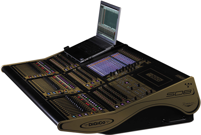 Digico SD8 Digital Console with Wireless Ipad control