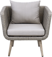 Erik Lounge Chair - Warm Grey